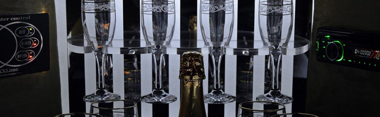 FairytaleCar Hochzeitslimousine Minibar